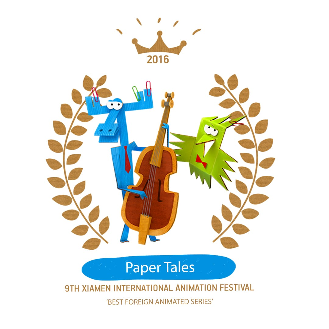 Award of 'Paper Tales'