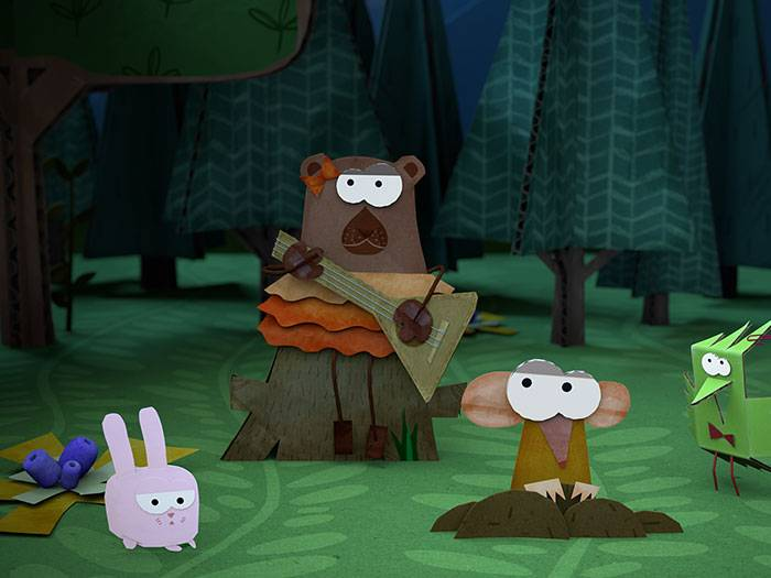Screenshot from «Paper Tales»
