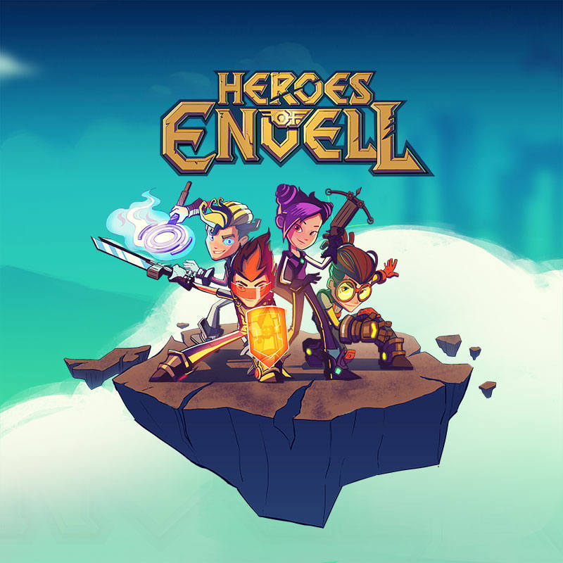 'Heroes of Envell' cartoon poster