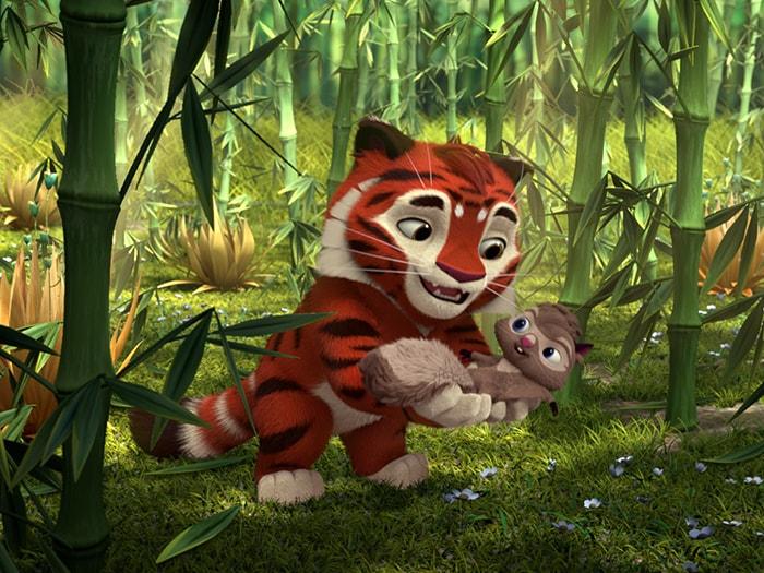 Screenshots from'Лео и Тиг'