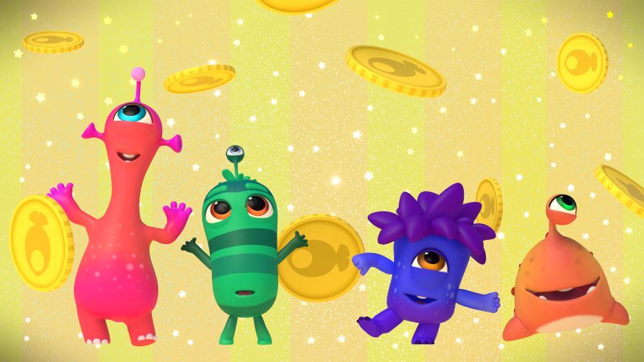 Кадры из мультфильма «Морики Дорики»